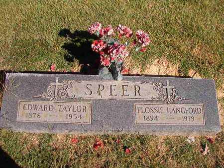 SPEER, FLOSSIE - Lonoke County, Arkansas | FLOSSIE SPEER - Arkansas Gravestone Photos
