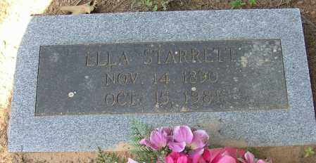 STARRETT, ELLA - Lonoke County, Arkansas | ELLA STARRETT - Arkansas Gravestone Photos