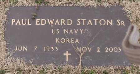STATON, SR (VETERAN KOR), PAUL EDWARD - Lonoke County, Arkansas | PAUL EDWARD STATON, SR (VETERAN KOR) - Arkansas Gravestone Photos