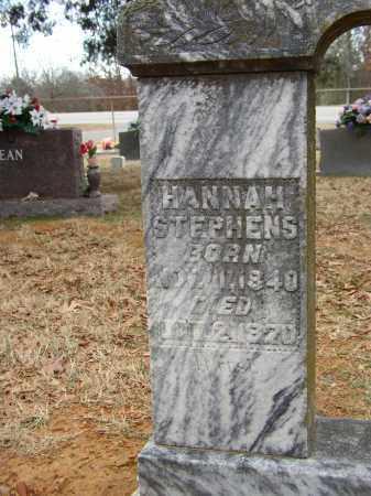 STEPHENS, HANNAH - Lonoke County, Arkansas | HANNAH STEPHENS - Arkansas Gravestone Photos