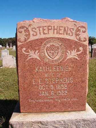 STEPHENS, KATHLEEN E - Lonoke County, Arkansas | KATHLEEN E STEPHENS - Arkansas Gravestone Photos