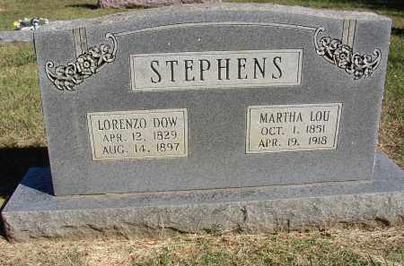 STEPHENS, LORENZO DOW - Lonoke County, Arkansas | LORENZO DOW STEPHENS - Arkansas Gravestone Photos