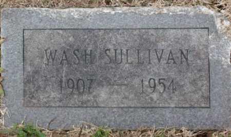 SULLIVAN, WASH - Lonoke County, Arkansas | WASH SULLIVAN - Arkansas Gravestone Photos