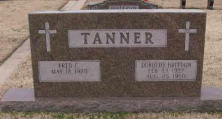 BRITTAIN TANNER, DOROTHY - Lonoke County, Arkansas   DOROTHY BRITTAIN TANNER - Arkansas Gravestone Photos