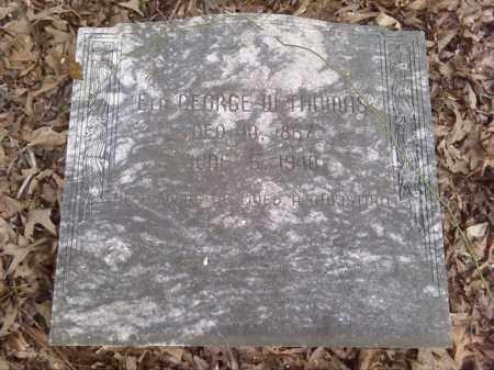 THOMAS, GEORGE W - Lonoke County, Arkansas | GEORGE W THOMAS - Arkansas Gravestone Photos