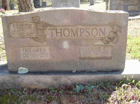 THOMPSON, LOUIE E. - Lonoke County, Arkansas   LOUIE E. THOMPSON - Arkansas Gravestone Photos
