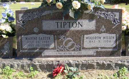 TIPTON, MAXINE - Lonoke County, Arkansas | MAXINE TIPTON - Arkansas Gravestone Photos