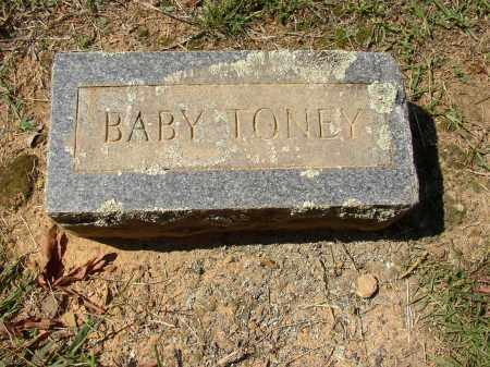 TONEY, BABY - Lonoke County, Arkansas | BABY TONEY - Arkansas Gravestone Photos