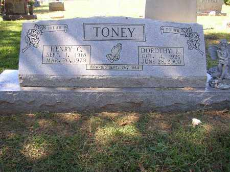 TONEY, DOROTHY E. - Lonoke County, Arkansas | DOROTHY E. TONEY - Arkansas Gravestone Photos