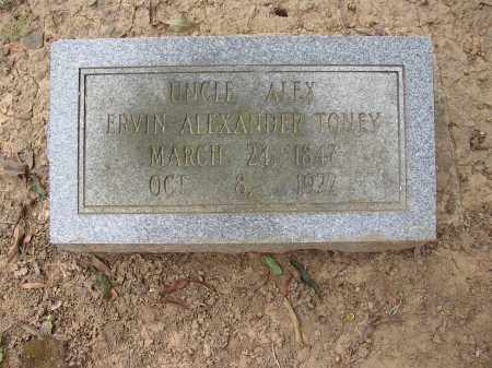 TONEY, ERVIN ALEXANDER - Lonoke County, Arkansas   ERVIN ALEXANDER TONEY - Arkansas Gravestone Photos