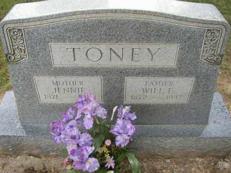 TONEY, JENNIE - Lonoke County, Arkansas | JENNIE TONEY - Arkansas Gravestone Photos