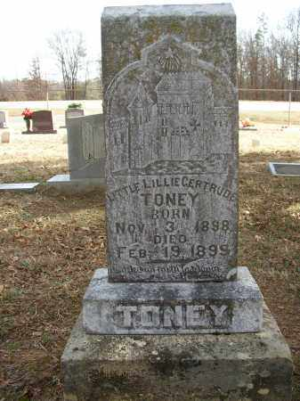 TONEY, LITTLE LILLIE GERTRUDE - Lonoke County, Arkansas | LITTLE LILLIE GERTRUDE TONEY - Arkansas Gravestone Photos