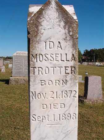 TROTTER, IDA MOSSELLA - Lonoke County, Arkansas   IDA MOSSELLA TROTTER - Arkansas Gravestone Photos