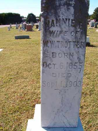 TROTTER, NANNIE E - Lonoke County, Arkansas | NANNIE E TROTTER - Arkansas Gravestone Photos