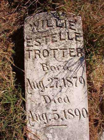 TROTTER, WILLIE ESTELLE - Lonoke County, Arkansas | WILLIE ESTELLE TROTTER - Arkansas Gravestone Photos