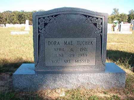 TUCHEK, DORA MAE - Lonoke County, Arkansas   DORA MAE TUCHEK - Arkansas Gravestone Photos