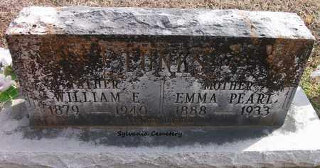 TUNKS, EMMA PEARL - Lonoke County, Arkansas   EMMA PEARL TUNKS - Arkansas Gravestone Photos
