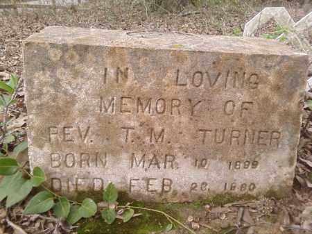 TURNER,  REV, T M - Lonoke County, Arkansas | T M TURNER,  REV - Arkansas Gravestone Photos