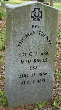 TURNER (VETERAN CSA), THOMAS - Lonoke County, Arkansas | THOMAS TURNER (VETERAN CSA) - Arkansas Gravestone Photos
