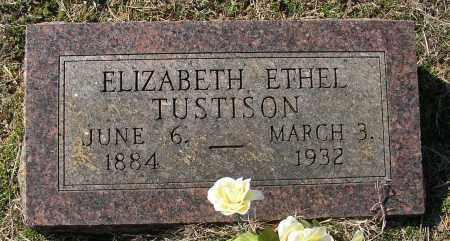 TUSTISON, ELIZABETH ETHEL - Lonoke County, Arkansas | ELIZABETH ETHEL TUSTISON - Arkansas Gravestone Photos