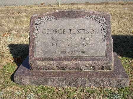 TUSTISON, GEORGE - Lonoke County, Arkansas | GEORGE TUSTISON - Arkansas Gravestone Photos