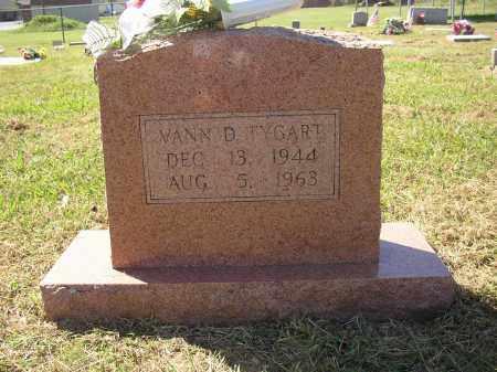 TYGART, VANN D - Lonoke County, Arkansas | VANN D TYGART - Arkansas Gravestone Photos