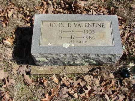 VALENTINE, JOHN P. - Lonoke County, Arkansas   JOHN P. VALENTINE - Arkansas Gravestone Photos