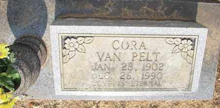 VAN PELT, CORA - Lonoke County, Arkansas | CORA VAN PELT - Arkansas Gravestone Photos