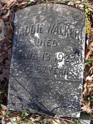 WALKER, ADDIE - Lonoke County, Arkansas | ADDIE WALKER - Arkansas Gravestone Photos