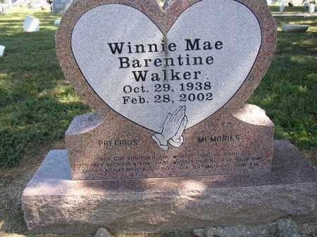 WALKER, WINNIE MAE - Lonoke County, Arkansas | WINNIE MAE WALKER - Arkansas Gravestone Photos