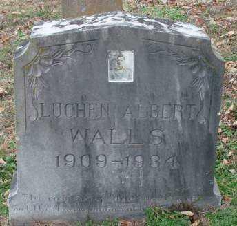 WALLS, LUCHEN ALBERT - Lonoke County, Arkansas | LUCHEN ALBERT WALLS - Arkansas Gravestone Photos