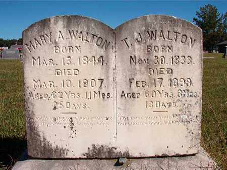 WALTON, T J - Lonoke County, Arkansas | T J WALTON - Arkansas Gravestone Photos