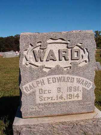 WARD, RALPH EDWARD - Lonoke County, Arkansas | RALPH EDWARD WARD - Arkansas Gravestone Photos