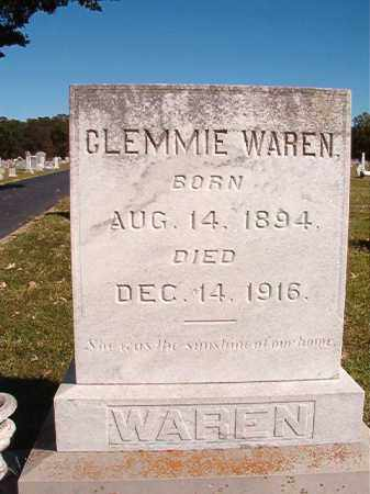WAREN, CLEMMIE - Lonoke County, Arkansas | CLEMMIE WAREN - Arkansas Gravestone Photos