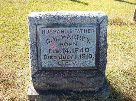 WARREN, G W - Lonoke County, Arkansas | G W WARREN - Arkansas Gravestone Photos