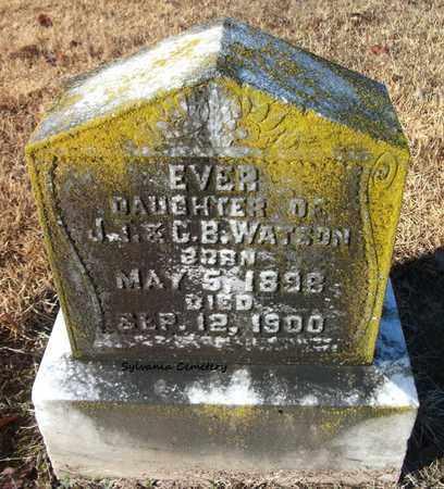 WATSON, EVER - Lonoke County, Arkansas   EVER WATSON - Arkansas Gravestone Photos