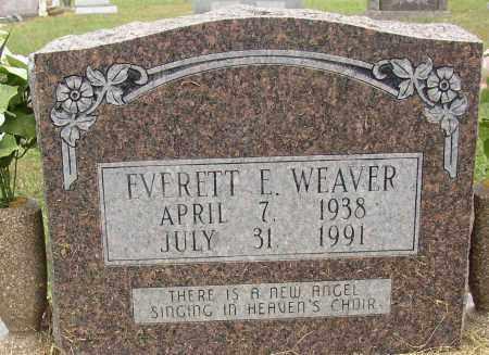 WEAVER, EVERETT E. - Lonoke County, Arkansas | EVERETT E. WEAVER - Arkansas Gravestone Photos