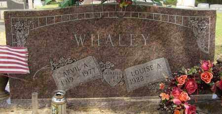 WHALEY (VETERAN WWII), ARVIL A. - Lonoke County, Arkansas | ARVIL A. WHALEY (VETERAN WWII) - Arkansas Gravestone Photos
