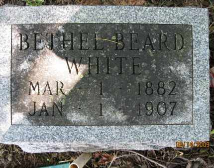 BEARD WHITE, BETHEL - Lonoke County, Arkansas | BETHEL BEARD WHITE - Arkansas Gravestone Photos