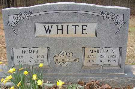 WHITE, MARTHA N. - Lonoke County, Arkansas   MARTHA N. WHITE - Arkansas Gravestone Photos
