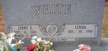WHITE, JERRY E. - Lonoke County, Arkansas   JERRY E. WHITE - Arkansas Gravestone Photos