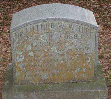 WHITE, LUTHER W, DR - Lonoke County, Arkansas   LUTHER W, DR WHITE - Arkansas Gravestone Photos