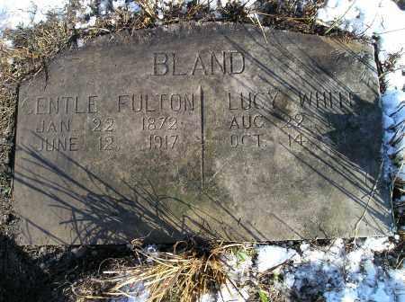 BLAND, CENTLE FULTON - Lonoke County, Arkansas | CENTLE FULTON BLAND - Arkansas Gravestone Photos