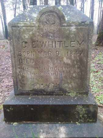 WHITLEY, C E - Lonoke County, Arkansas | C E WHITLEY - Arkansas Gravestone Photos