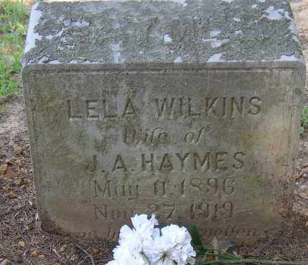 WILKINS, LELA - Lonoke County, Arkansas   LELA WILKINS - Arkansas Gravestone Photos