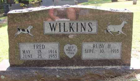 WILKINS (VETERAN WWII), FRED - Lonoke County, Arkansas   FRED WILKINS (VETERAN WWII) - Arkansas Gravestone Photos