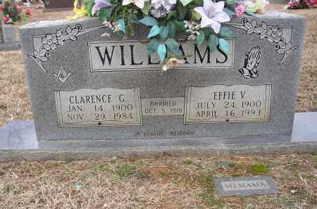WILLIAMS, CLARENCE G. - Lonoke County, Arkansas   CLARENCE G. WILLIAMS - Arkansas Gravestone Photos