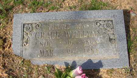 WILLIAMS, GRACE - Lonoke County, Arkansas   GRACE WILLIAMS - Arkansas Gravestone Photos