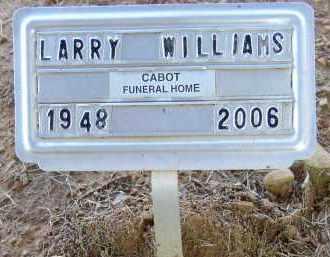 WILLIAMS, LARRY - Lonoke County, Arkansas   LARRY WILLIAMS - Arkansas Gravestone Photos