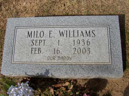 WILLIAMS, MILO E. - Lonoke County, Arkansas | MILO E. WILLIAMS - Arkansas Gravestone Photos